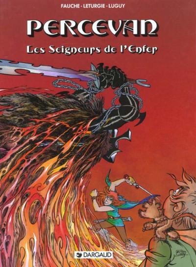 Couverture Percevan tome 7 - les seigneurs de l'enfer