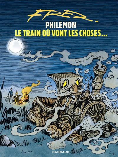 Couverture Philémon tome 16 - le train où vont les choses