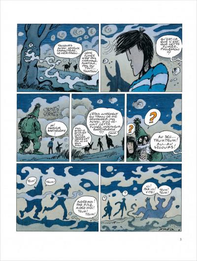 Page 5 Philémon tome 16 - le train où vont les choses