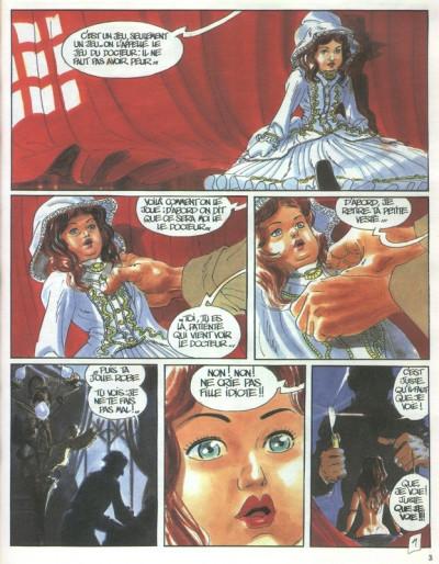 Page 1 Cliff Burton tome 4 - les poupées de sang