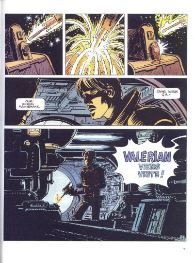 Page 1 Valérian tome 14 - les armes vivantes