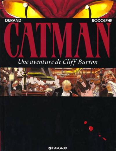 Couverture Cliff Burton tome 5 - catman