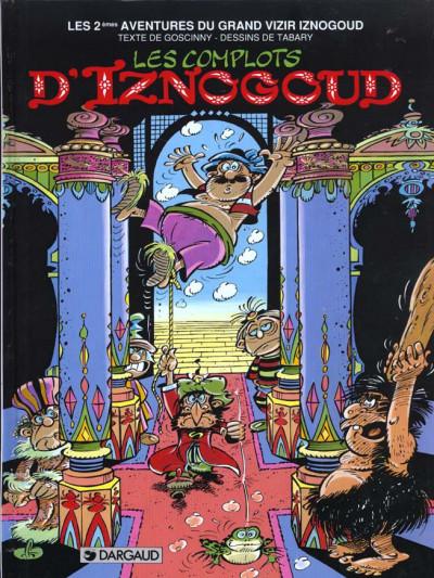 Couverture Iznogoud tome 2 - les complots d'iznogoud