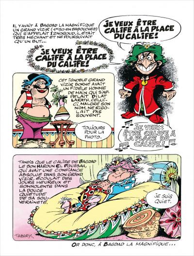 Page 3 Iznogoud tome 2 - les complots d'iznogoud