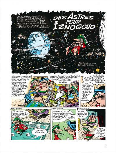 Page 5 Iznogoud tome 5 - des astres pour iznogoud