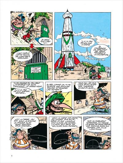 Page 6 Iznogoud tome 5 - des astres pour iznogoud