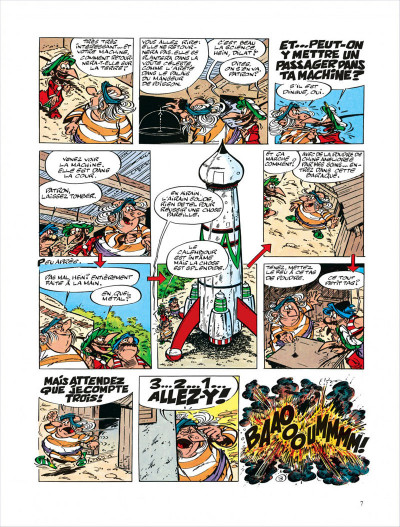 Page 7 Iznogoud tome 5 - des astres pour iznogoud