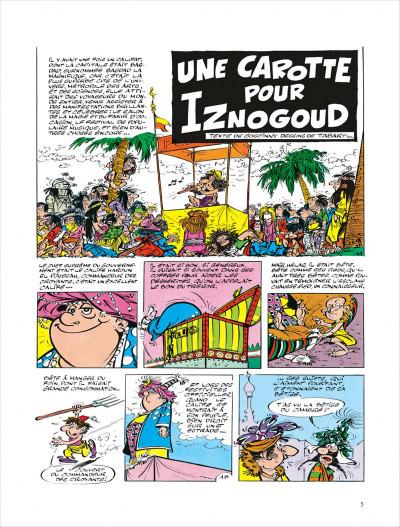 Page 5 Iznogoud tome 7 - une carotte pour iznogoud