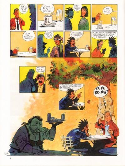 Page 1 Les amis de Saltiel tome 1 - l'homme qui n'aimait pas les arbres
