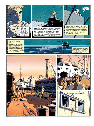 Page 6 Tramp tome 2 - le bras de fer