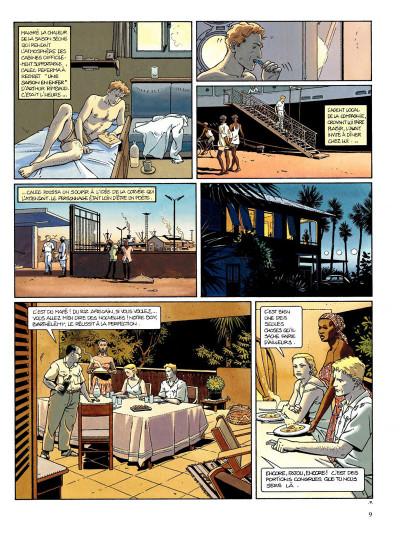 Page 7 Tramp tome 2 - le bras de fer