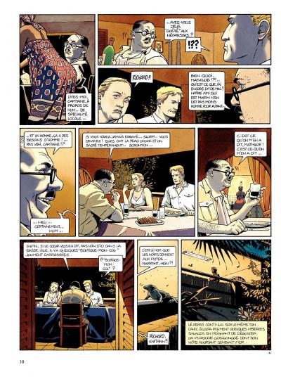 Page 8 Tramp tome 2 - le bras de fer