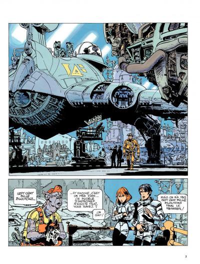 Page 1 Valérian tome 15 - les cercles du pouvoir