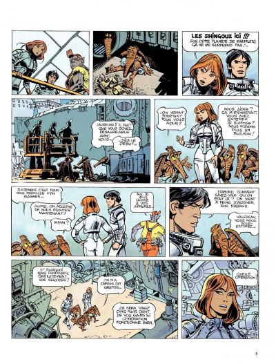 Page 3 Valérian tome 15 - les cercles du pouvoir