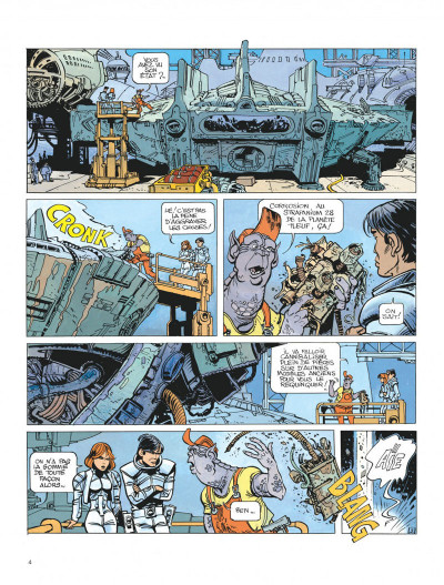 Page 5 Valérian tome 15 - les cercles du pouvoir