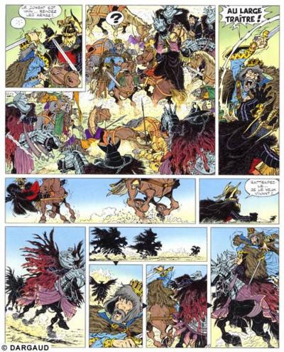 Page 1 Percevan tome 8 - la table d'émeraude