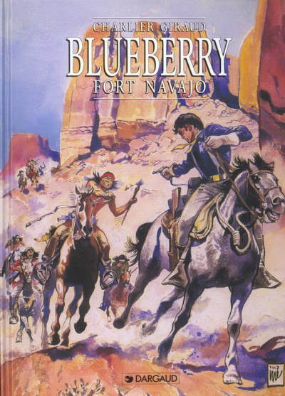 Couverture Blueberry tome 1 - fort navajo