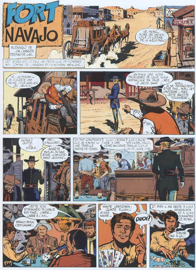 Page 1 Blueberry tome 1 - fort navajo