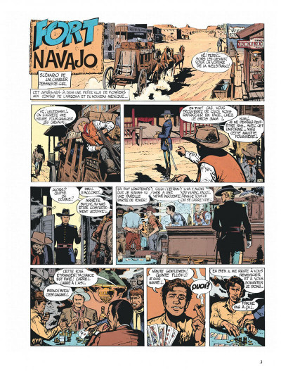 Page 3 Blueberry tome 1 - fort navajo