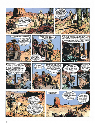 Page 8 Blueberry tome 1 - fort navajo