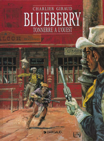 Couverture Blueberry tome 2 - tonnerre à l'ouest