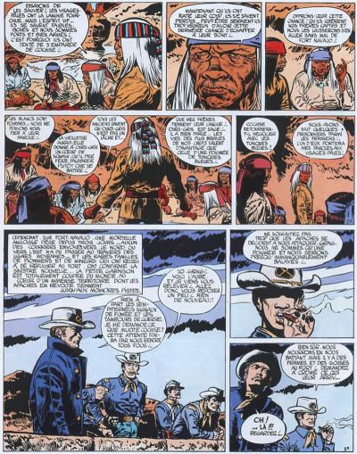 Page 2 Blueberry tome 2 - tonnerre à l'ouest