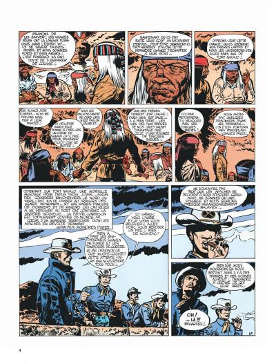 Page 4 Blueberry tome 2 - tonnerre à l'ouest