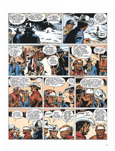 Page 5 Blueberry tome 2 - tonnerre à l'ouest