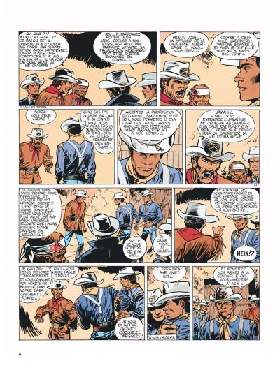 Page 6 Blueberry tome 2 - tonnerre à l'ouest