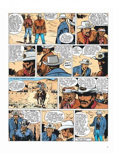 Page 7 Blueberry tome 2 - tonnerre à l'ouest