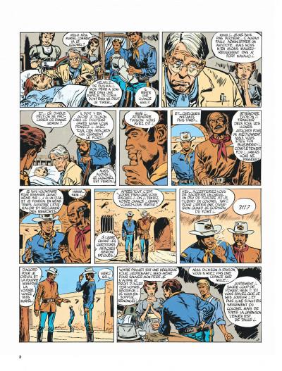 Page 8 Blueberry tome 2 - tonnerre à l'ouest
