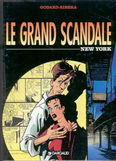 Couverture Le grand scandale tome 1 - new york
