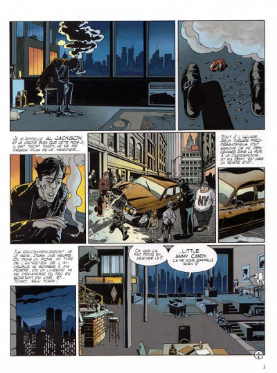 Page 1 Le grand scandale tome 1 - new york
