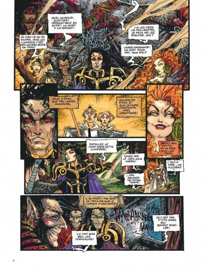 Page 6 Chroniques de la lune noire tome 5 - la danse écarlate