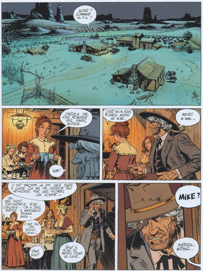 Page 1 Marshall blueberry tome 3 - frontière sanglante