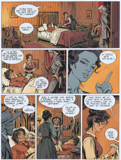 Page 2 Marshall blueberry tome 3 - frontière sanglante