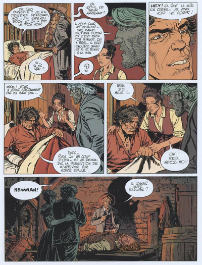 Page 4 Marshall blueberry tome 3 - frontière sanglante