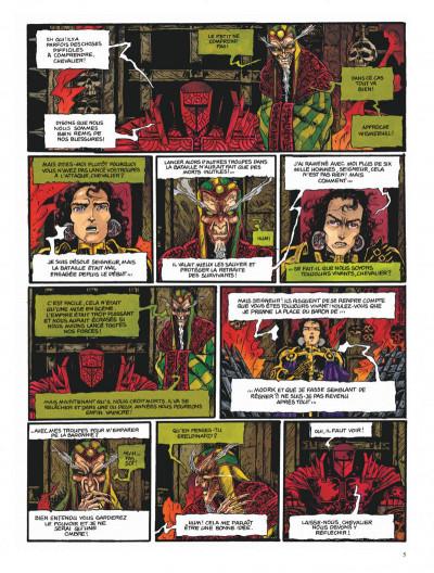 Page 5 Chroniques de la lune noire tome 6 - la couronne des ombres