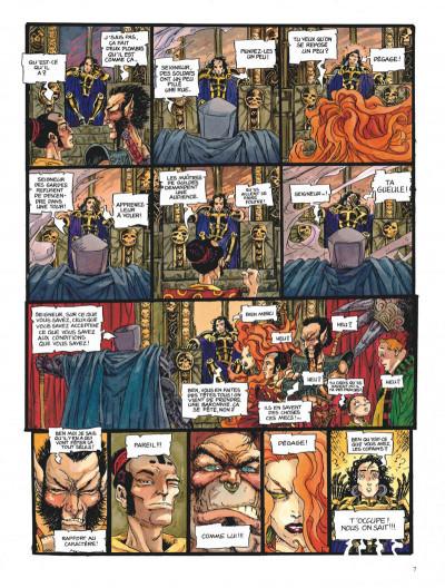 Page 7 Chroniques de la lune noire tome 6 - la couronne des ombres