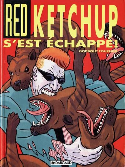 Couverture Red Ketchup tome 3 - red ketchup s'est échappé