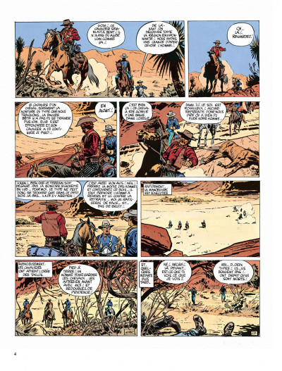 Page 4 Blueberry tome 3 - l'aigle solitaire