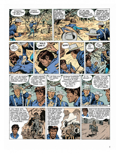 Page 5 Blueberry tome 3 - l'aigle solitaire
