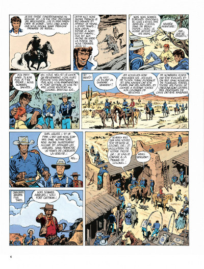 Page 6 Blueberry tome 3 - l'aigle solitaire