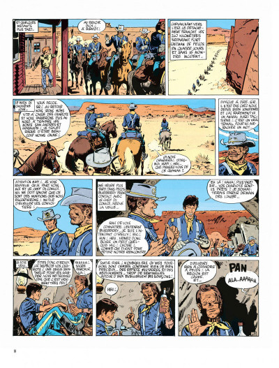 Page 8 Blueberry tome 3 - l'aigle solitaire