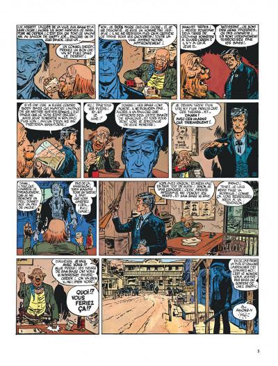 Page 5 Blueberry tome 6 - l'homme à l'étoile d'argent