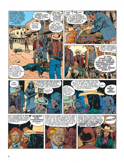 Page 8 Blueberry tome 6 - l'homme à l'étoile d'argent