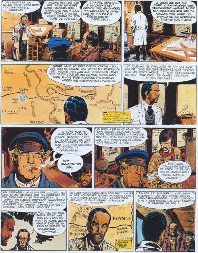 Page 2 Blueberry tome 7 - le cheval de fer
