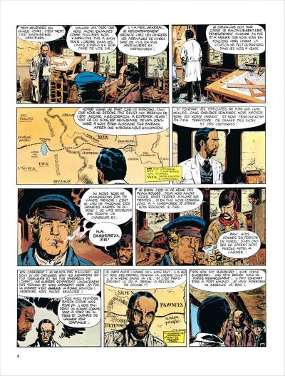 Page 4 Blueberry tome 7 - le cheval de fer
