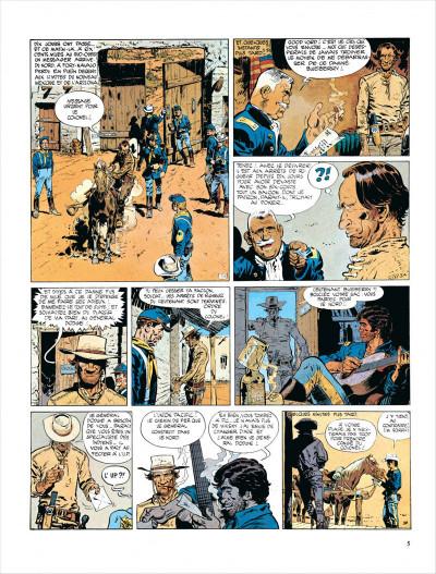 Page 5 Blueberry tome 7 - le cheval de fer