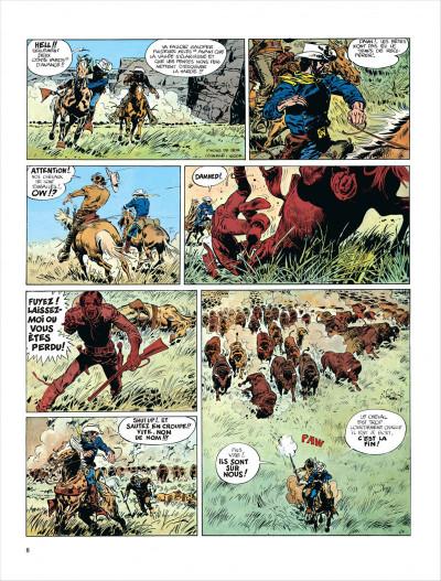 Page 8 Blueberry tome 7 - le cheval de fer